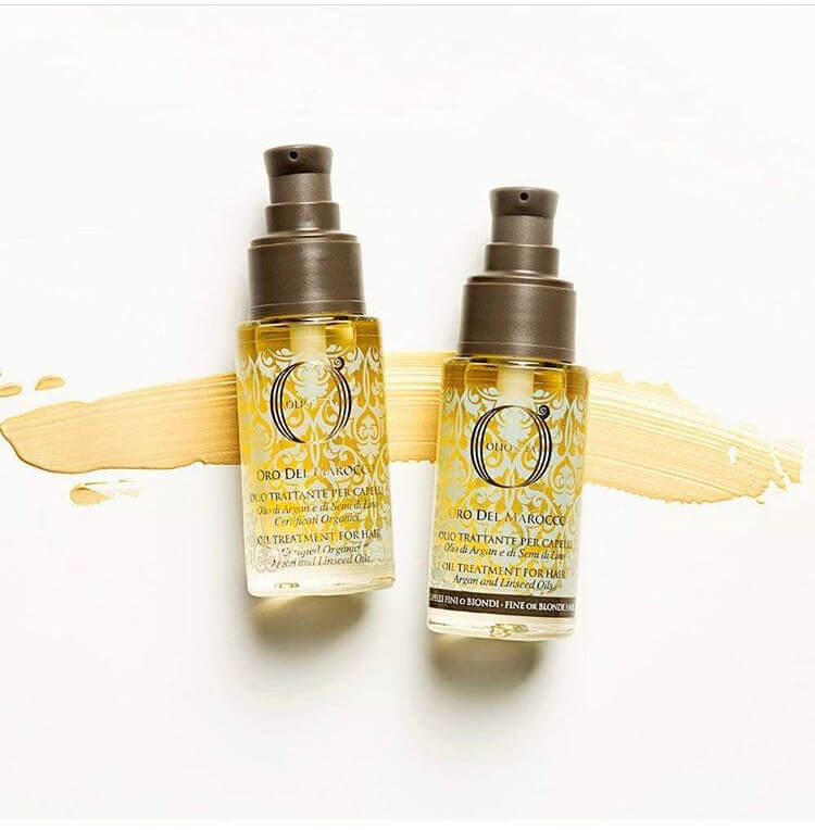 oro del marocco hair oil treatments