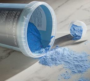 Superplex Up to 9 Blue Bleaching Powder